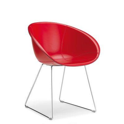 Cadeira GLISS_estofada