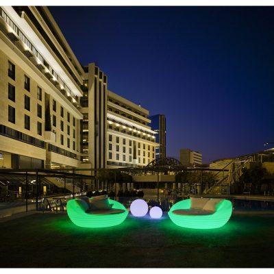 Sofa Iluminado Lounge Cannes